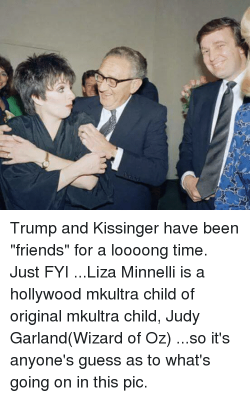 Trump and Kissinger Have Been Friends for a Loooong Time