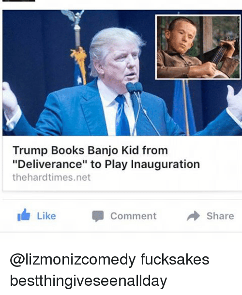 Trump Books Banjo Kid From Deliverance to Play Inauguration