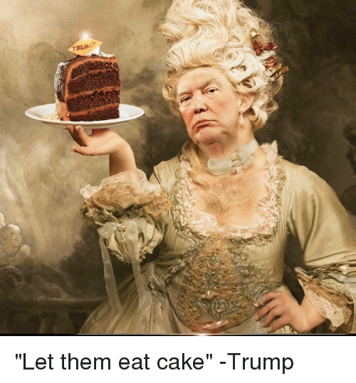 Let Them Eat Cake In French