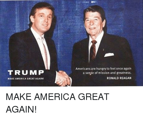 trump make america great again americans are hungry to feel once