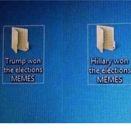 trump won the elections memes hillary won the elections memes 6272603 trump won the elections memes hillary won the elections memes meme
