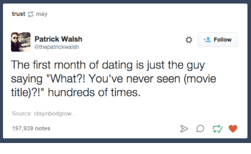What to expect during the first month of dating