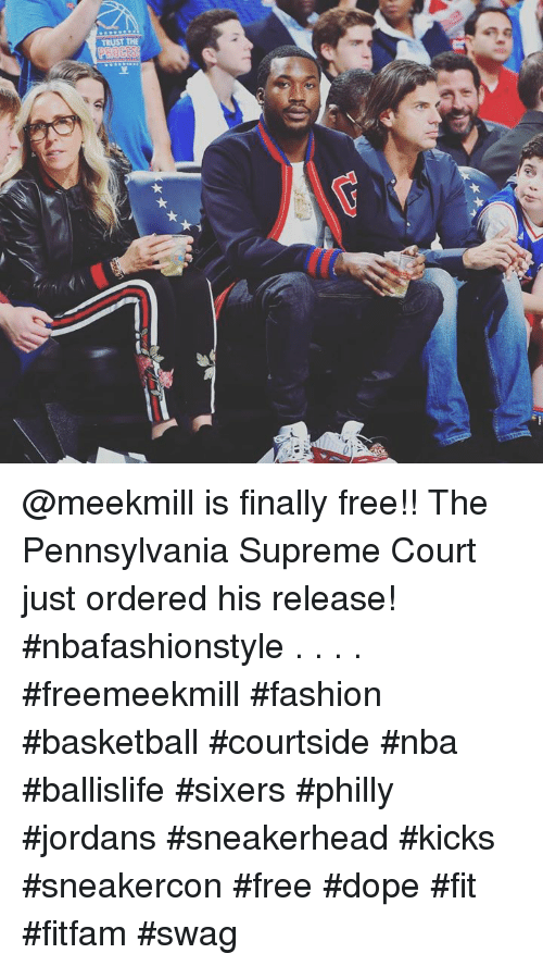 separation shoes ce471 aff65 Basketball, Dope, and Fashion  TRUST THE  meekmill is finally free!