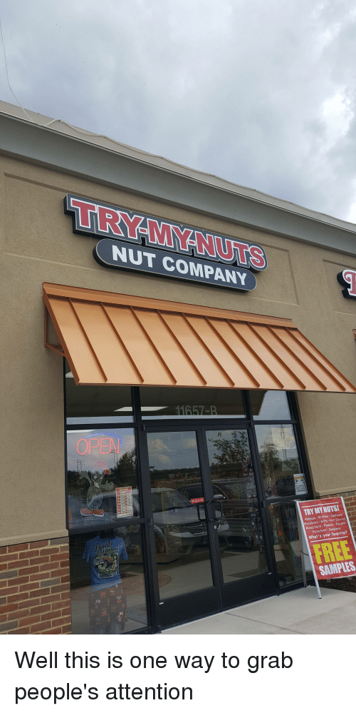 Funny, Company, and One: TRY-MYNUTS NUT COMPANY Cashews Gifts Pecons ChocolaPeanuts
