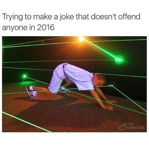 how to make a joke without offending 2018