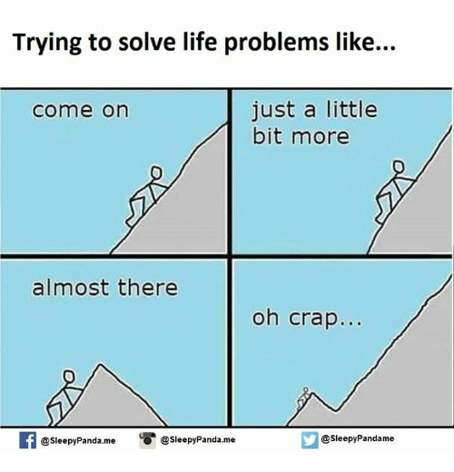 how to solve problem in life