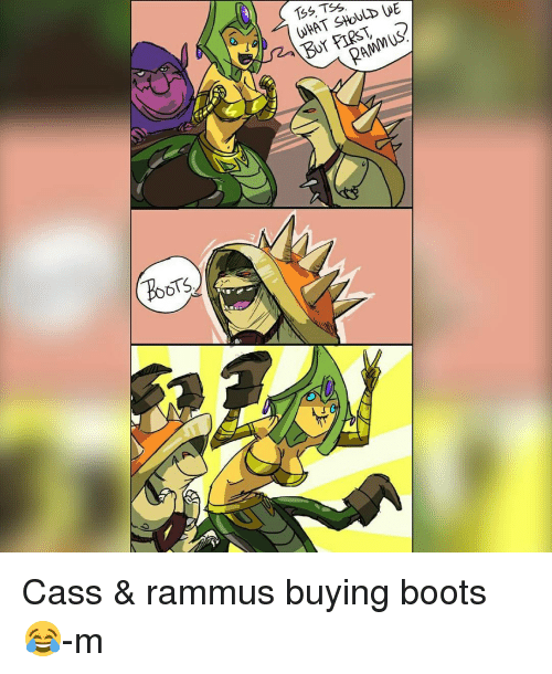 TSS TSS WHAT SHOULD WE Cass & Rammus Buying Boots 😂-M