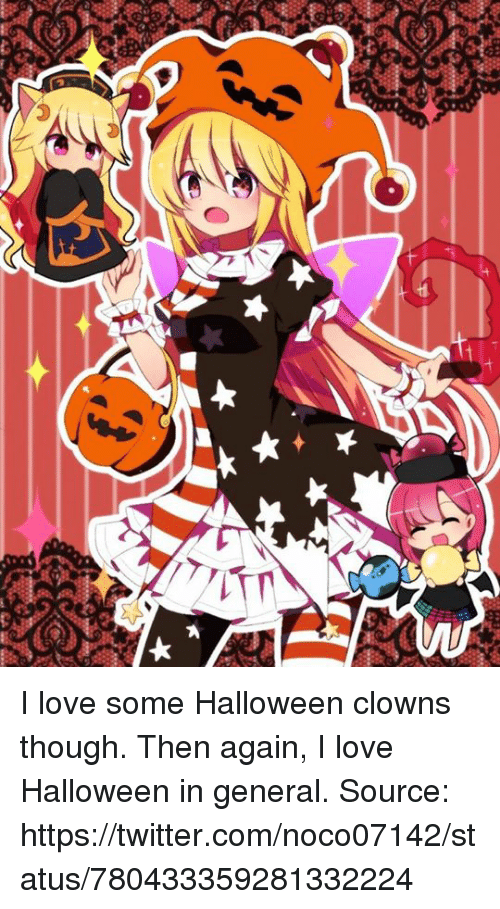 dank halloween and love tt i love some halloween clowns though then - I Luv Halloween Manga