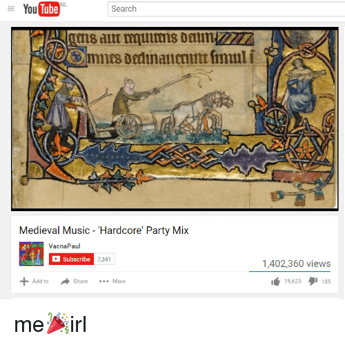 Tube You Search Medieval Music Hardcore Party Mix VacnaPau