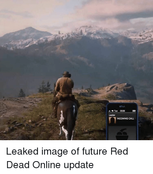 Tue 0556 Lester INCOMING CALL Leaked Image of Future Red