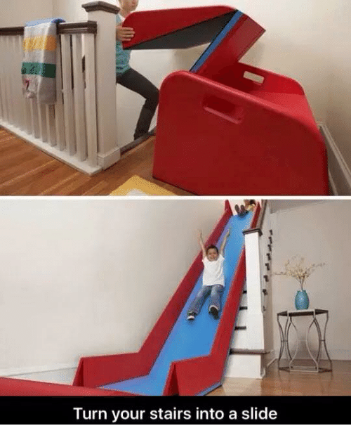 Attirant Girl Memes, Yours, And Stairs: Turn Your Stairs Into A Slide