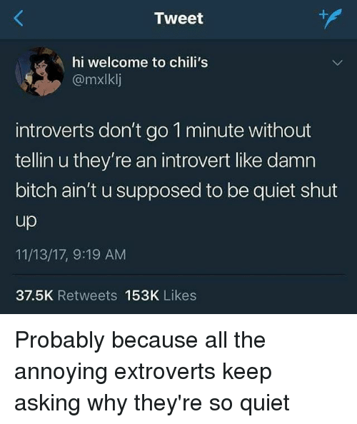 should introverts dating extroverts are annoying