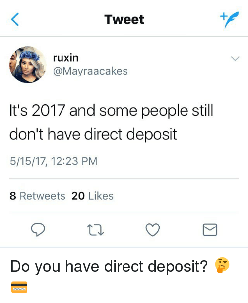 Tweet Ruxin Its 2017 And Some People Still Dont Have Direct
