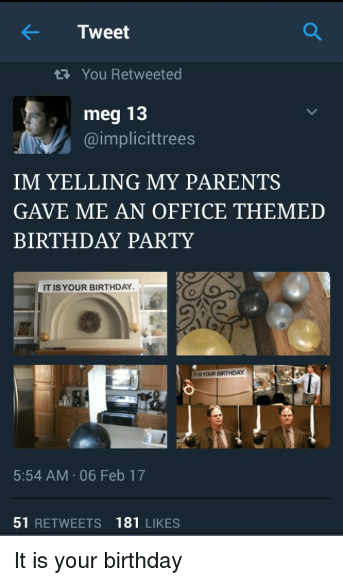 office theme parties