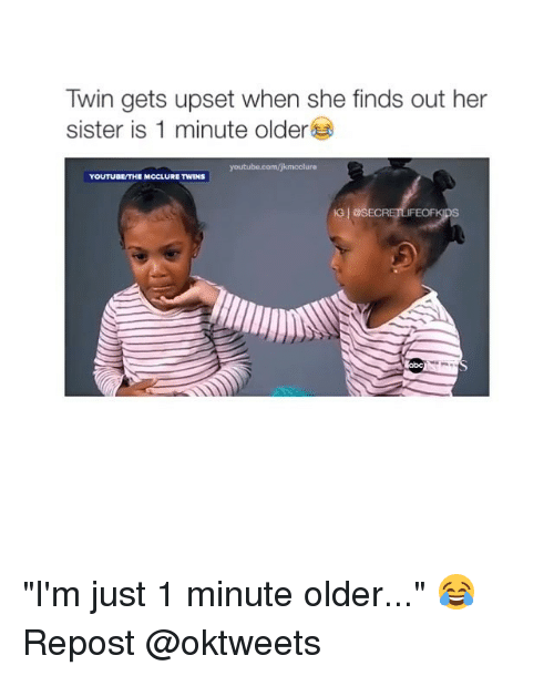 twin gets upset when she finds out her sister is 9965680 ✅ 25 best memes about valentines day funny meme valentines day,Mcclure Twins Meme