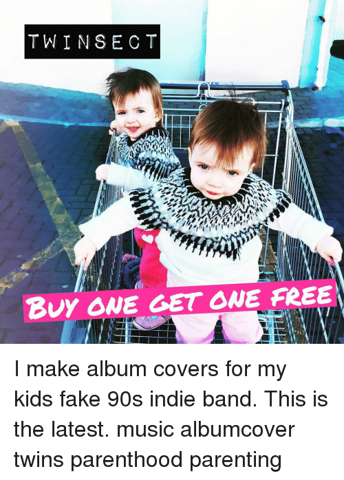TWIN SEC Buy ONE GET ONE FREE I Make Album Covers for My