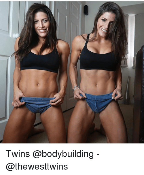 Memes, Twins, and Bodybuilding: Twins @bodybuilding - @thewesttwins