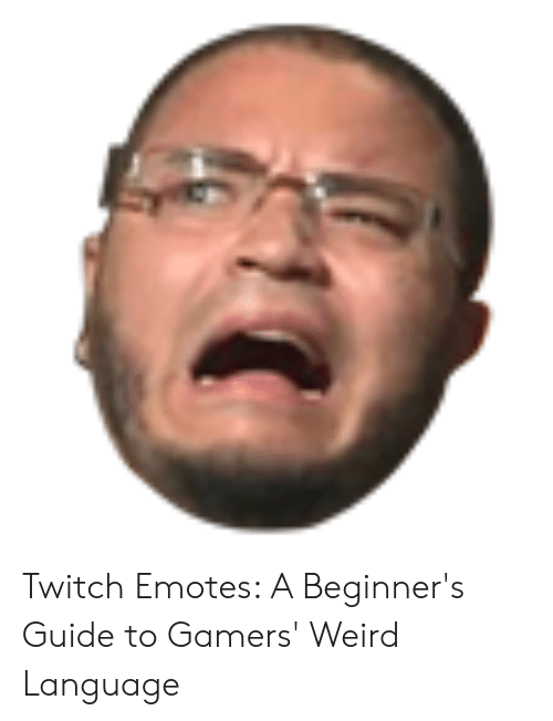 Twitch Emotes a Beginner's Guide to Gamers' Weird Language