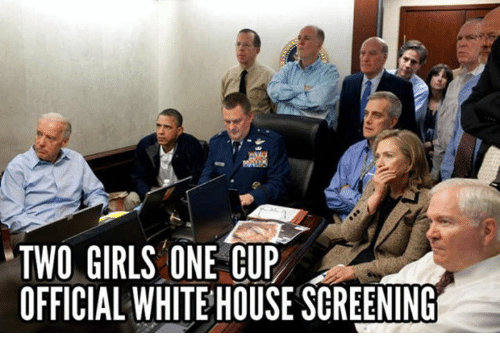 Girls Memes And TWO GIRLS ONE CUP OFFICIAL WHITEHOUSE SCREENING
