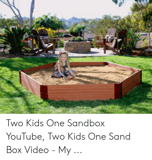 25+ Best Memes About Two Kids One Sandbox