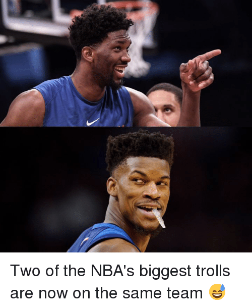 Team, Trolls, and Now: Two of the NBA's biggest trolls are now on the same team 😅