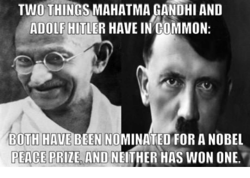 dialogue between mahatma gandhi and hitler Conversation between mahatma gandhi and adolf hitler morning to all of you we are going to present a small conversation, based on a hypothetical situation, between gandhi and hitler.