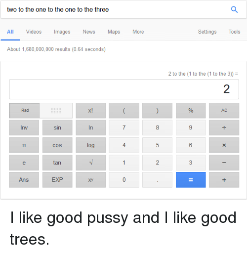 i like good pussy and i