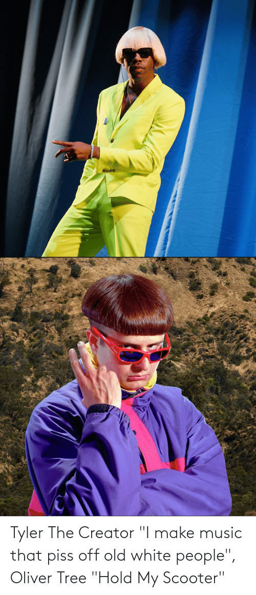 """Music, Reddit, and Scooter: Tyler The Creator """"I make music that piss off old white people"""", Oliver Tree """"Hold My Scooter"""""""