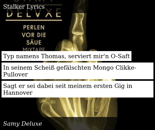 samy deluxe hannover