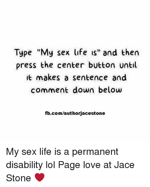 My life sex page