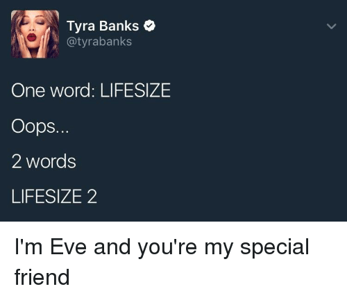 Tyra Banks Jussie Meme: 25+ Best Memes About Special Friend