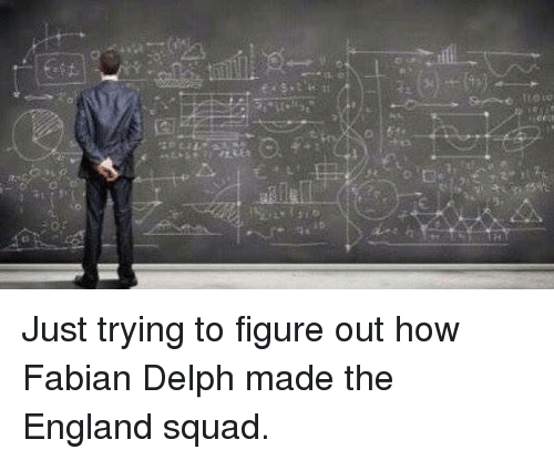 England, Soccer, and Squad: TzOiw  0  €2 Just trying to figure out how Fabian Delph made the England squad.