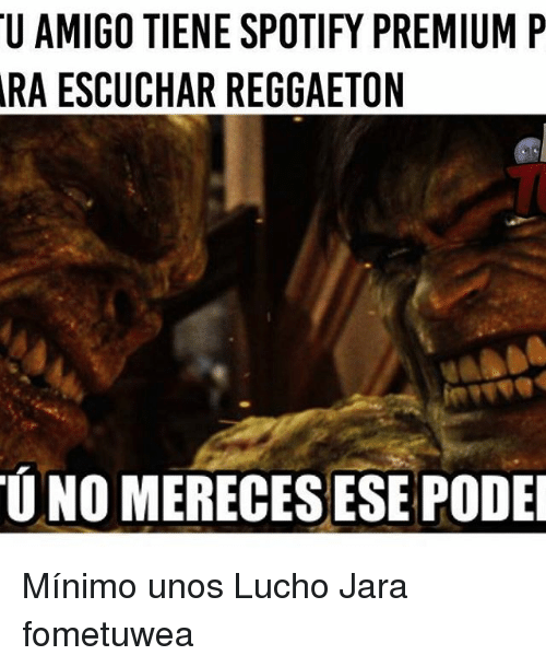 25 Best Memes About Spotify: 25+ Best Memes About Lucho