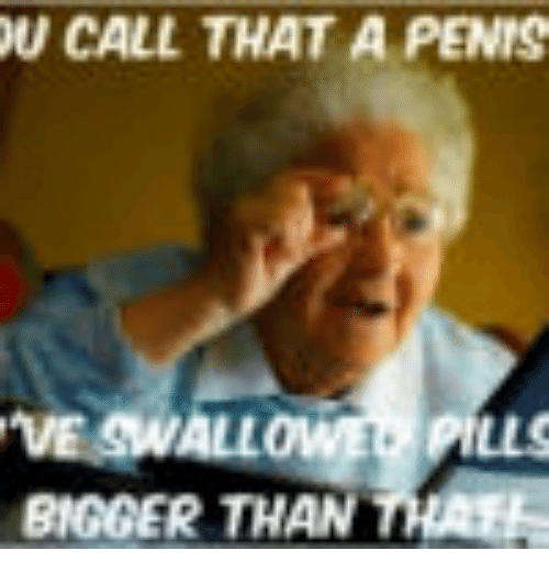 Why is your penis so big
