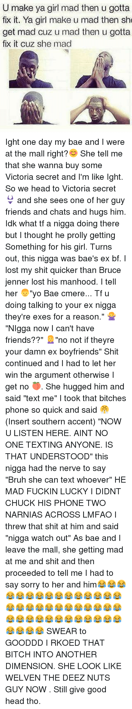 Made ex Bitch nut tell she cry