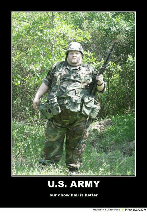 u s army our chow hall is better memes a funny 3113631 us army our chow hall is better memes a funny pics frabz com