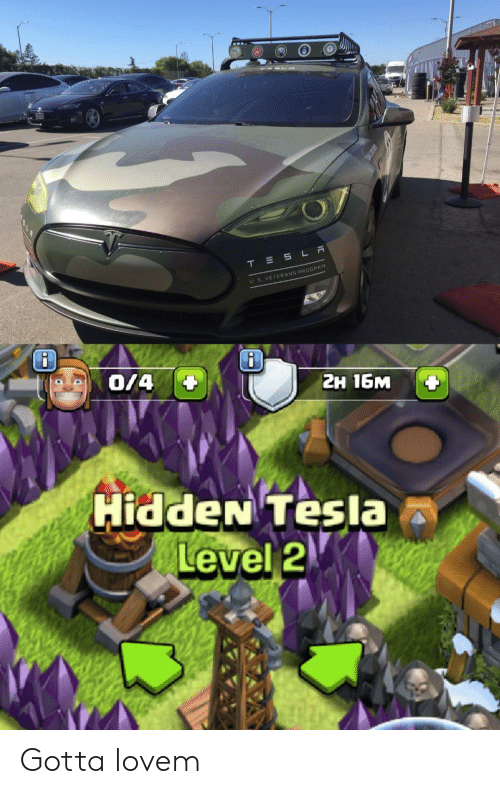 Cars, Hidden, and Tesla: U. S. VETERANS PROGRAM  2H 16M  HiddeN Tesla  Level2 Gotta lovem