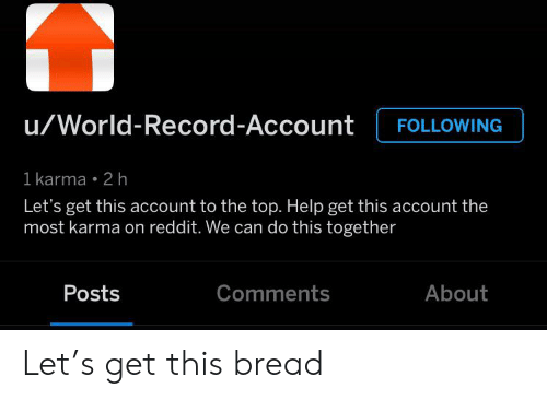 uWorld-Record-Account FOLLOWING 1 Karma 2 H Let's Get This
