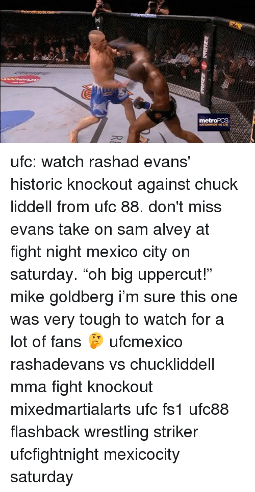 Ufc Watch Rashad Evans Historic Knockout Against Chuck Liddell From