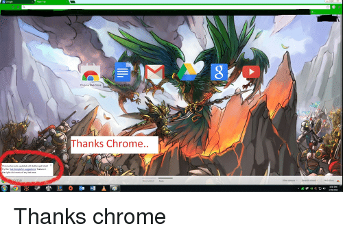 Ug Google New Tab Chrome Has Auto-Updated With Bettar Spell Chek
