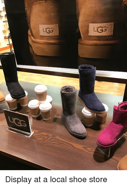 0f2cd6b4e UGG UGG Display at a Local Shoe Store