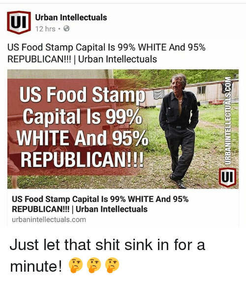 Food Memes And Shit UI Urban Intellectuals 12 Hrs US Stamp Capital