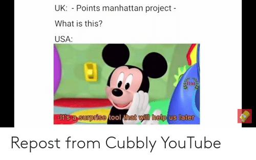UK Points Manhattan Project What Is This? USA MTIM Het Ill
