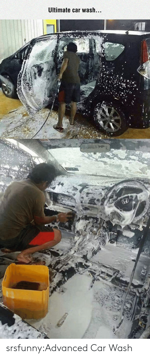 Tumblr, Blog, and Http: Ultimate car wash. srsfunny:Advanced Car Wash