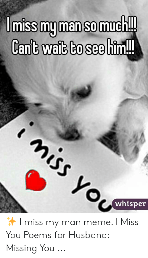 Missing You Poems For Him 2