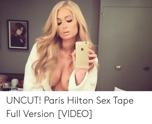 Párizs hilton sex tape full video
