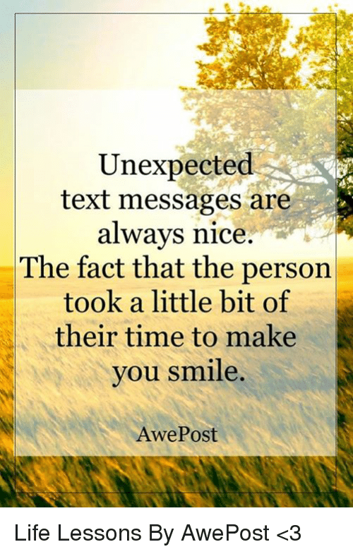 Nice picture messages