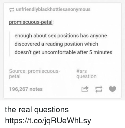Real question real answer about sex
