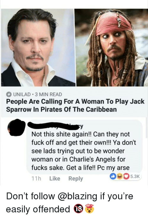 Unilad 3 Min Read People Are Calling For A Woman To Play Jack