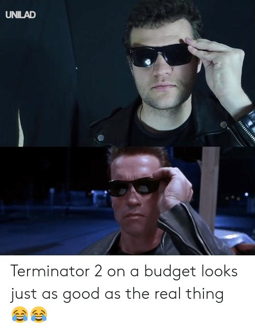 Dank, Budget, and Good: UNILAD Terminator 2 on a budget looks just as good as the real thing 😂😂